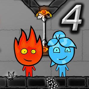 Play Fireboy and Watergirl 4 Crystal Temple game | Y8