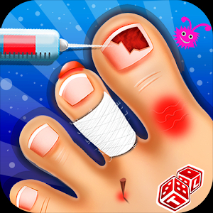 Nail Doctor - Ready to cure people\'s feet - Y8y8y8.games