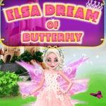 Elsa Dream Of Butterfly