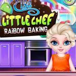 Elsa Little Chef Rainbow Baking