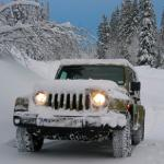 Offroad Snow Jeep Passenger Mountain Uphill Driving