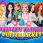Princess Fashion Puffer Jacket
