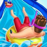 Slippery Water Slides Aquapark.io